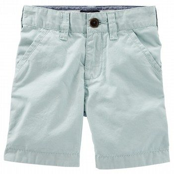 OshKosh Roll-Cuff Flat-Front Shorts