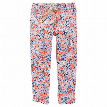 OshKosh Floral Drawstring Legging