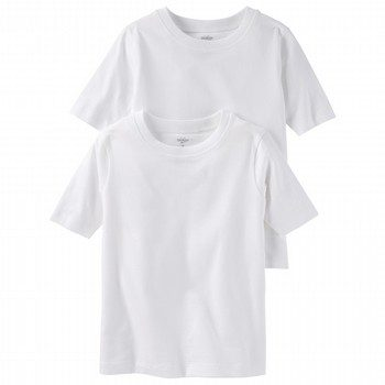 OshKosh 2PK S/S Cotton Undershirts
