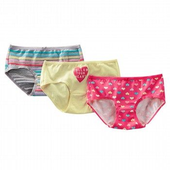 Oshkosh 3PK Heart Underwear