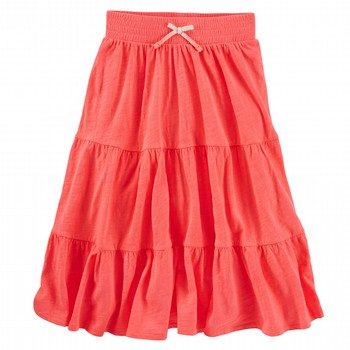 OshKosh Tiered Neon Maxi Skirt