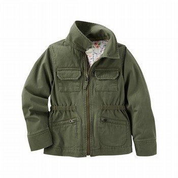 OshKosh Twill Cargo Jacket