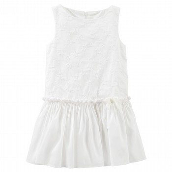 OshKosh Eyelet Drop-Waist Dress