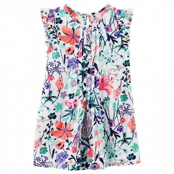 OshKosh Pleated Floral Dress