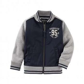 OshKosh Fleece Varsity Bomber Jacket