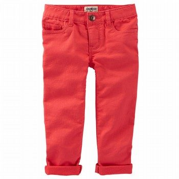 OshKosh B'gosh Knit-Like Skinny Stretch Twills