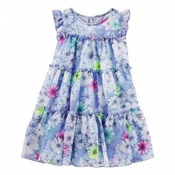 OshKosh Tiered Floral Tulle Dress