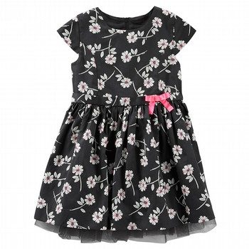 OshKosh Floral Sateen Dress