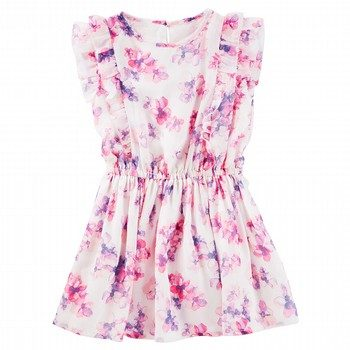 OshKosh Floral Chiffon Dress
