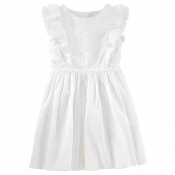 OshKosh Eyelet Ruffle Dress