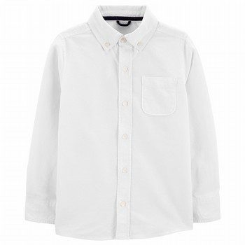 OshKosh Button-Front Poplin Shirt