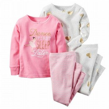 Carter's 4PC Snug Fit Cotton PJs