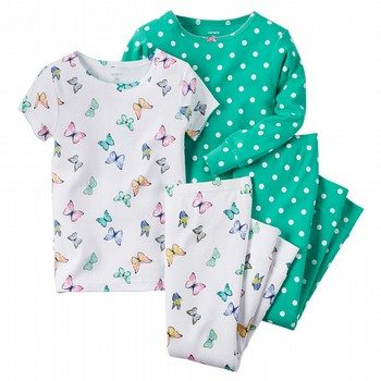 Carter's 4PC Butterfly PJ Set
