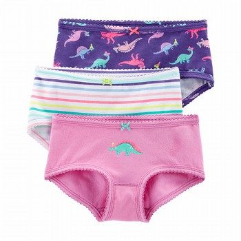 Carter's Neon 3PK Stretch Cotton Undies