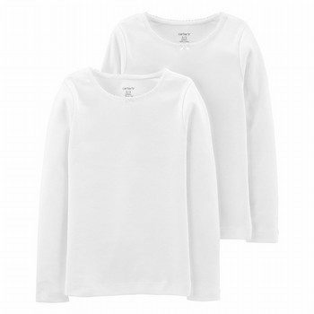 Carter's 2PK Basic L/S Undershirt