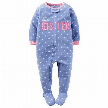Carter's Snug-Fit Fleece Onepiece Footed PJ's