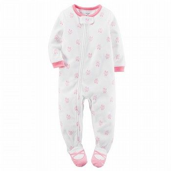 Carter's Snug-Fit Fleece Onepiece Footed PJs