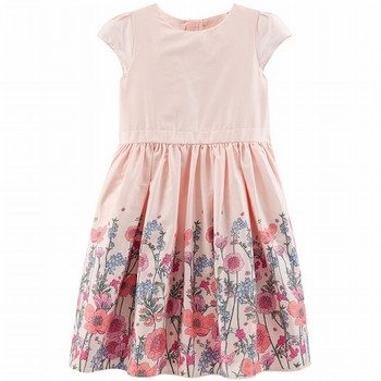 OshKosh Floral Border Dress