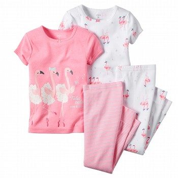 Carter's Flamingo 3 Piece Pyjama Set