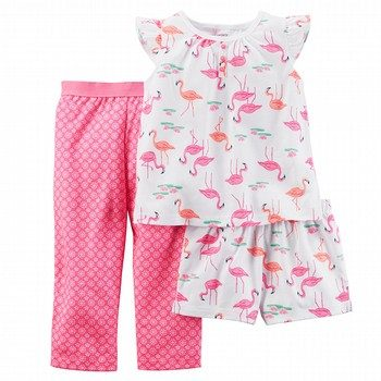 Carter's 3PC Flamingo Pyjama Set