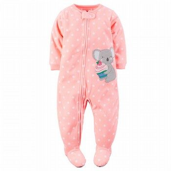 Carter's One Piece Fleece PJs