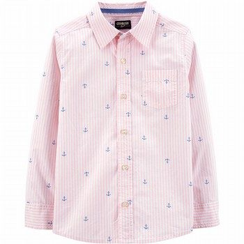 OshKosh B'gosh Anchors Button-Front Shirt