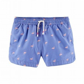 OshKosh Flamingo Sun Shorts