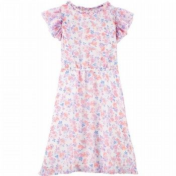 OshKosh B'gosh Floral Chiffon Dress