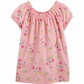 OshKosh B'gosh Floral Jersey Top