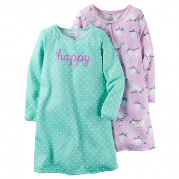 Carter's 2PK Owl Night Gown Pyjama