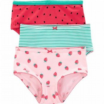 Carter's 3PK Stretch Cotton Undies