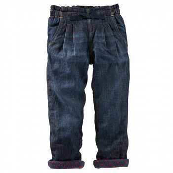 Oshkosh Print Lined Denim Jean