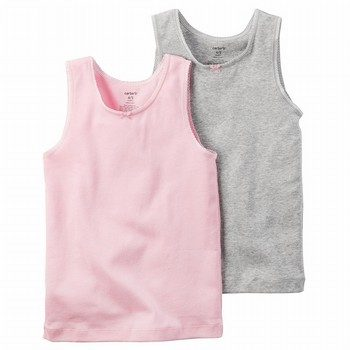 Carter's 2PK Singlet Cotton Undershirts