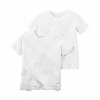 Carter's 2PK S/S Cotton Undershirts