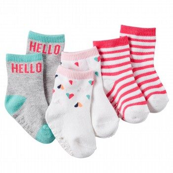Carter's 3PK Heart - Hello Socks