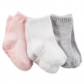 Carter's 3PK Solid Socks