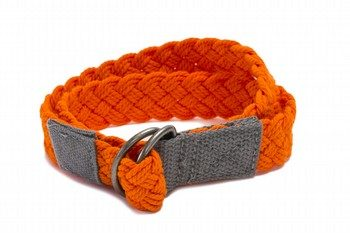 Oshkosh Orange Braided Belt