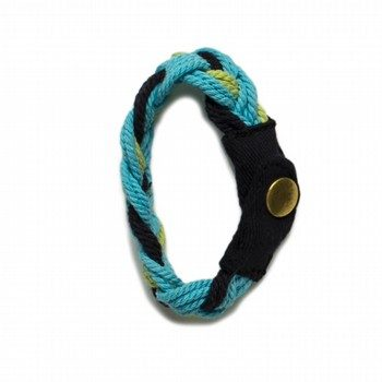 Oshkosh Blue Rope Bracelet