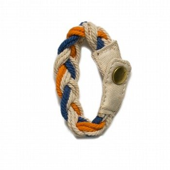 Oshkosh Orange Rope Bracelet