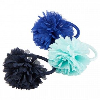 Oshkosh Chiffon Plume Hair Ties