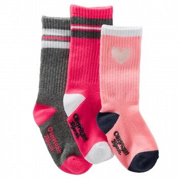 Oshkosh 3PK Heart Socks