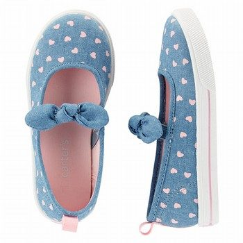 Carter's Chambray Slip-On Shoes