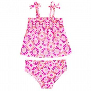 Oshkosh 2PC Print Rashie & Bottom Set