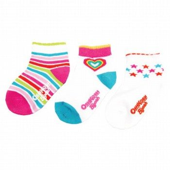 Oshkosh Heart/Stripe/Star Socks