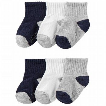 Carters 6PK Crew Socks