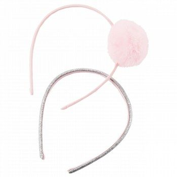 Carter's 2PK Pompom Sparkle Headbands