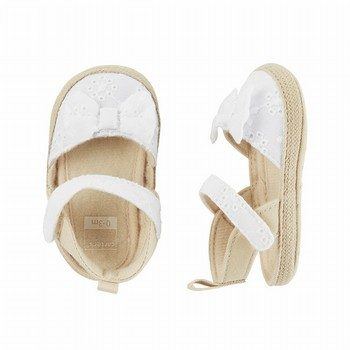 Carter's Espadrille Crib Shoes