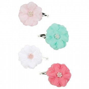 Carter's Flower Hair Clips 4 Pack