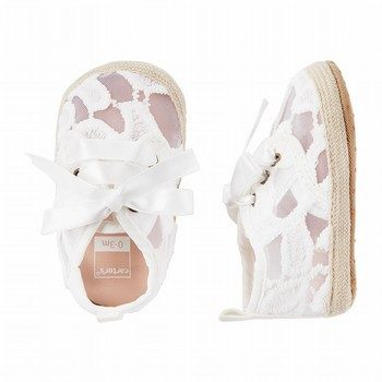Carter's Lace Espadrille Crib Shoes