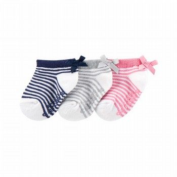 Carter's 3PK Bow Ankle Socks